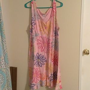 Fresh produce sleeveless dress